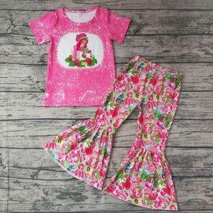 Strawberry shortcake 🍓 hot pink pants set